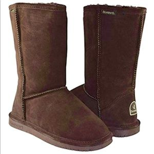 Bearpaw Emma Chocolate Brown Boot NWT Size 6